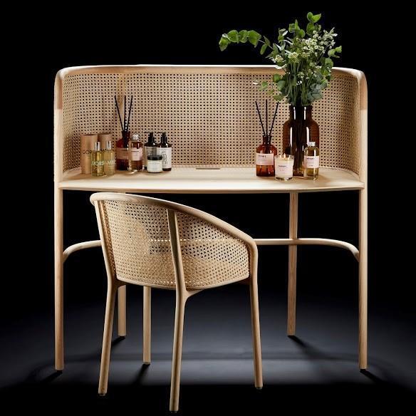 Latis Chair Natural Ash & Vienna Straw