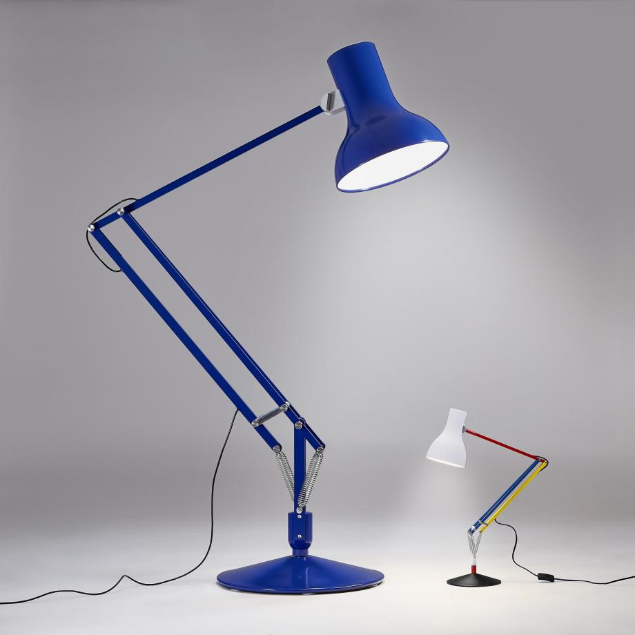 Exclusive Type 75 Giant Floor Lamp Conran Blue	Edition