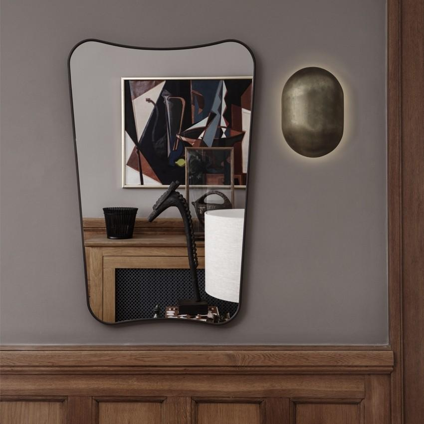 FA33 Rectangular Wall Mirror Medium