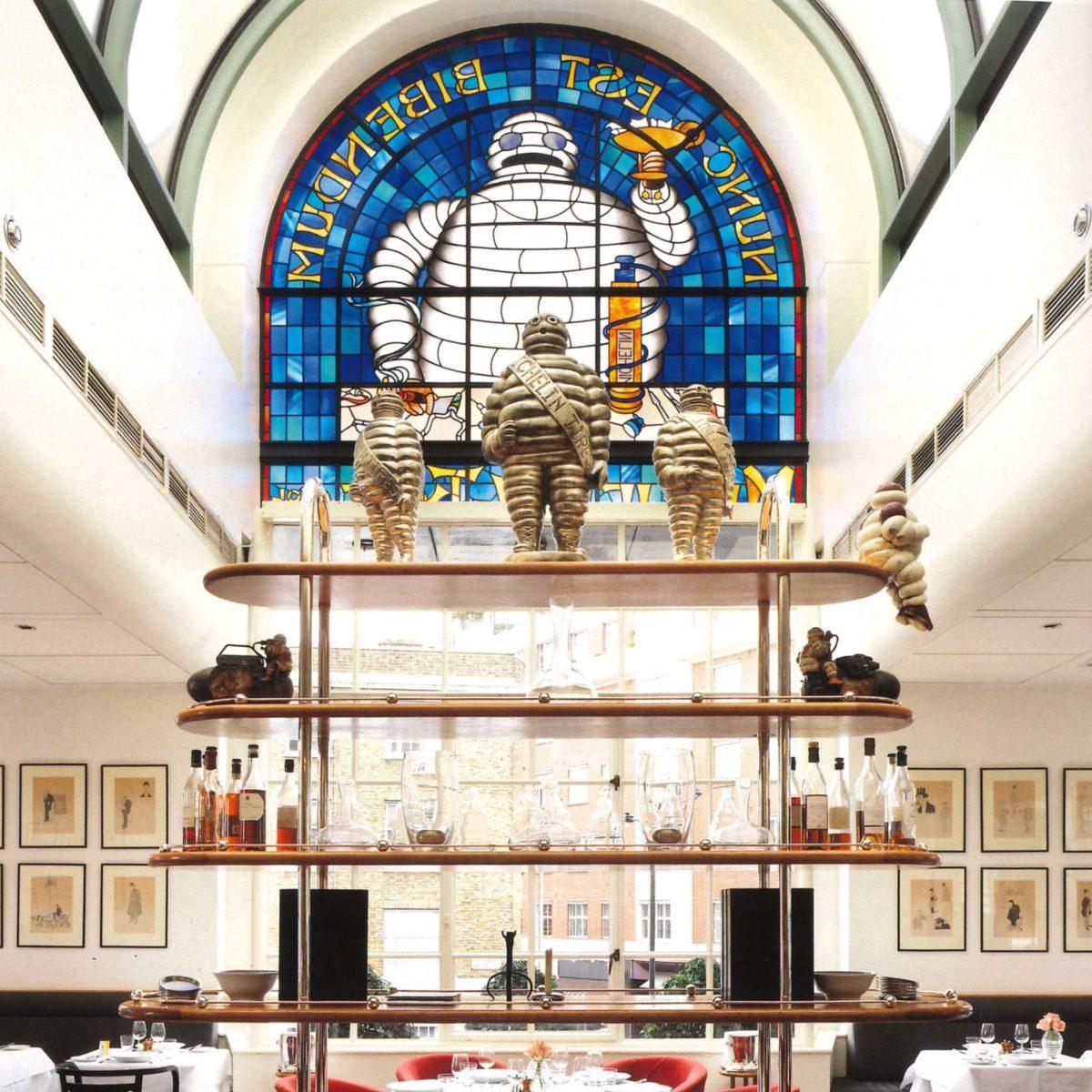 The Bibendum Restaurant. Source: My Life In Design   About us 1980s